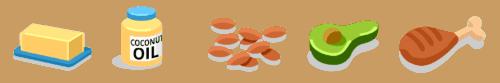 nutrição para corredores - gorduras