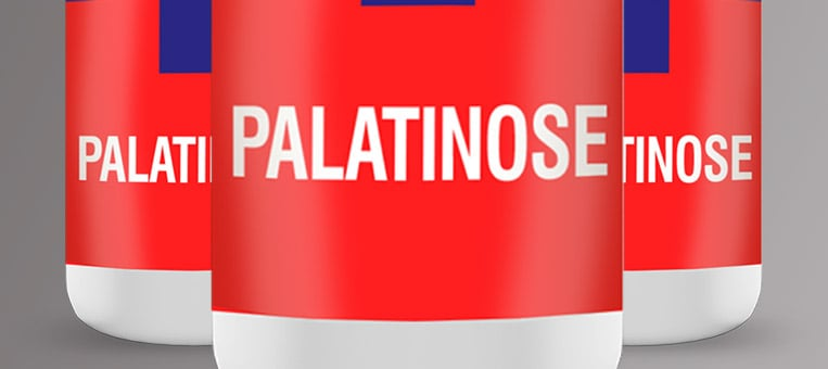 imagem ilustrativa de potes de suplemento de palatinose (isomaltulose)