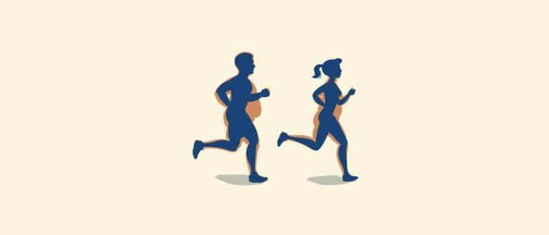 Cuando se debe correr para bajar de peso